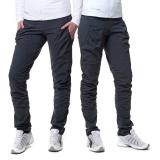 0b72e0705a4 Dámské sportovní kalhoty s řasením EK923 - citronová PRODLOUŽENÉ ...
