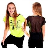 8a9f0afd849 Dětské tričko JUST DANCE - citronová