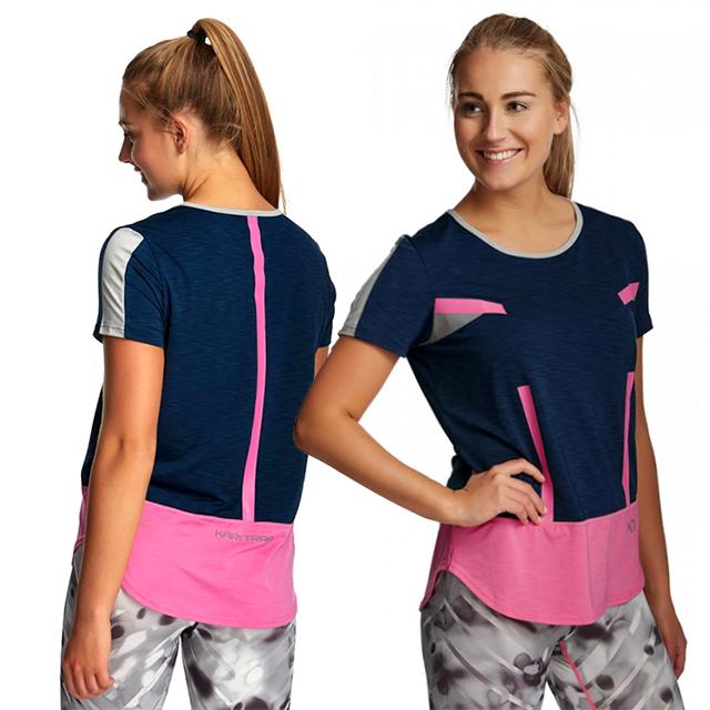 Dámské sportovní tričko ANITA TEE - modrá  b2b77e20ca