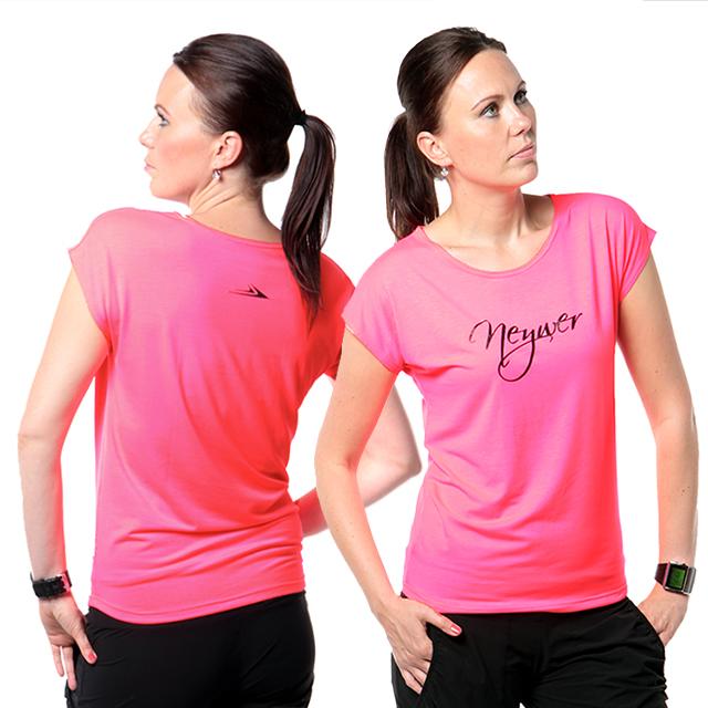 Dámské sportovní tričko CT450 - růžová neonová  231a9d55c5
