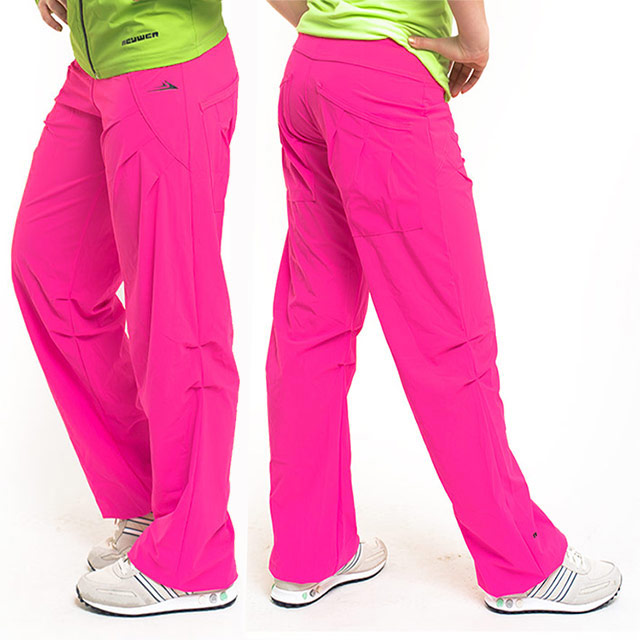 8cd201dee92 Dámské sportovní kalhoty EK928 - růžová