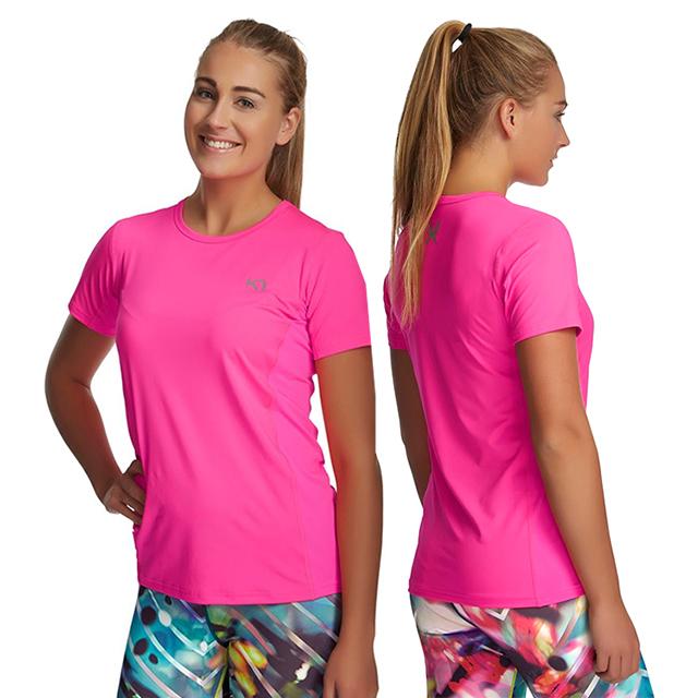 Dámské sportovní tričko NORA TEE - růžová  8b13c5b5d0