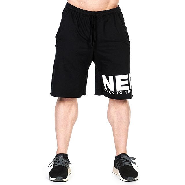 d4d5dda79457 Pánské sportovní šortky 343 - černá