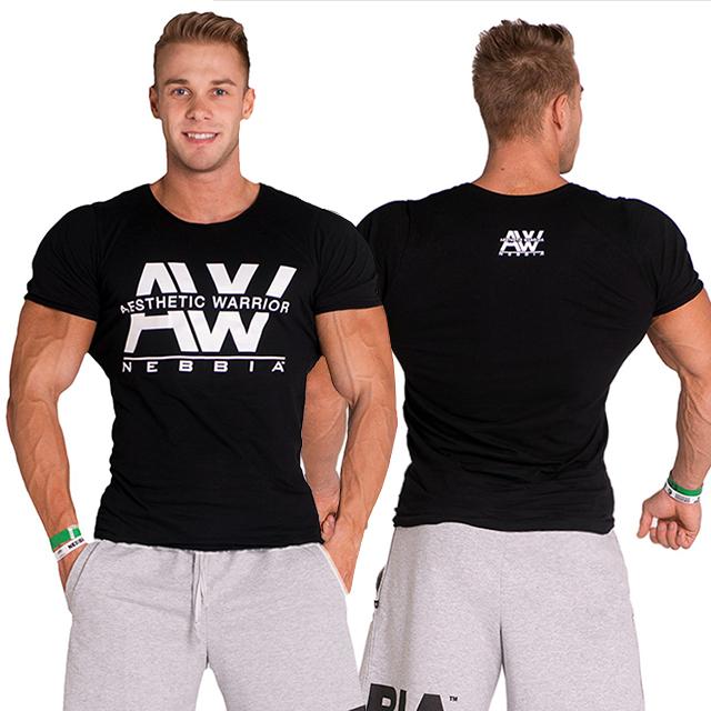cf838aa4db96 Pánské fitness tričko AW 127 - černá