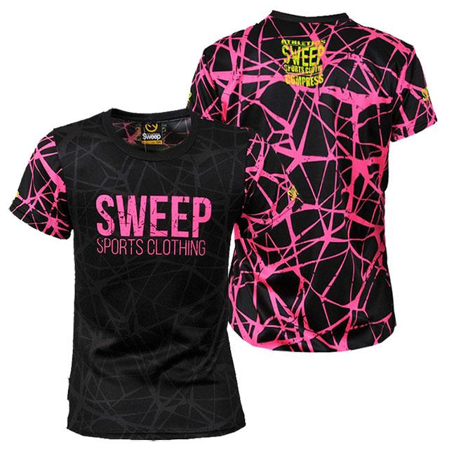 Dětské sportovní tričko SKTS005 - černá   růžová  f0b178e694