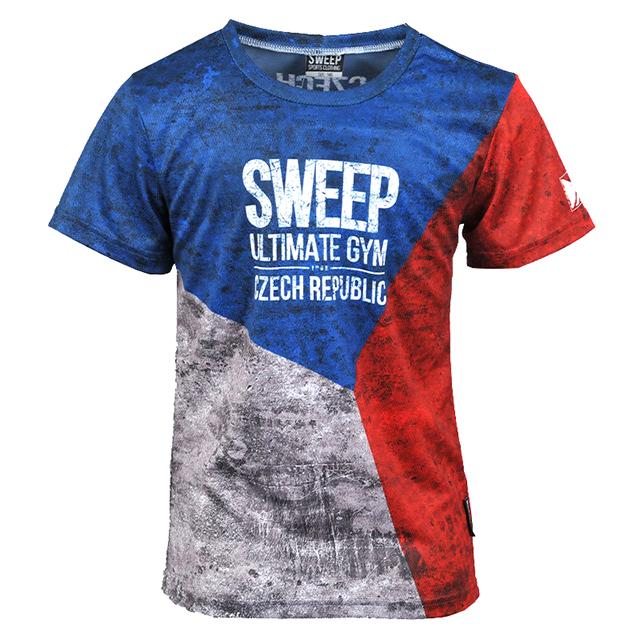 Dětské sportovní tričko SKTS013 CZECH  d486e48963