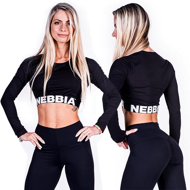 41f436b5d62 Sportovní funkční tričko CROP 269 - černá