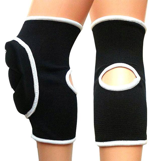 Sportovní chrániče kolen EFFEA 6644 - černá  49711aeb29