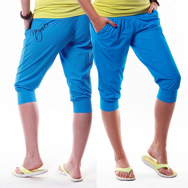a3f16640a96 Dámské sportovní krátké kalhoty EG966 - tyrkysová