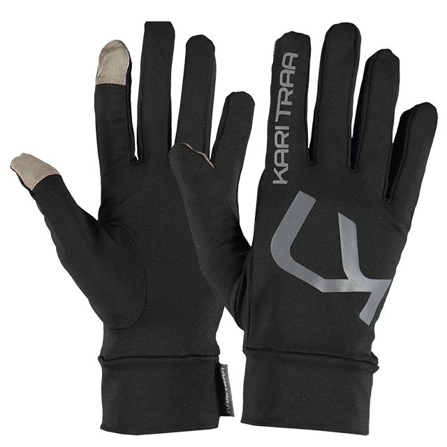 Sportovní funkční rukavice MYRBLA GLOVE - černá f7cfe56f0c