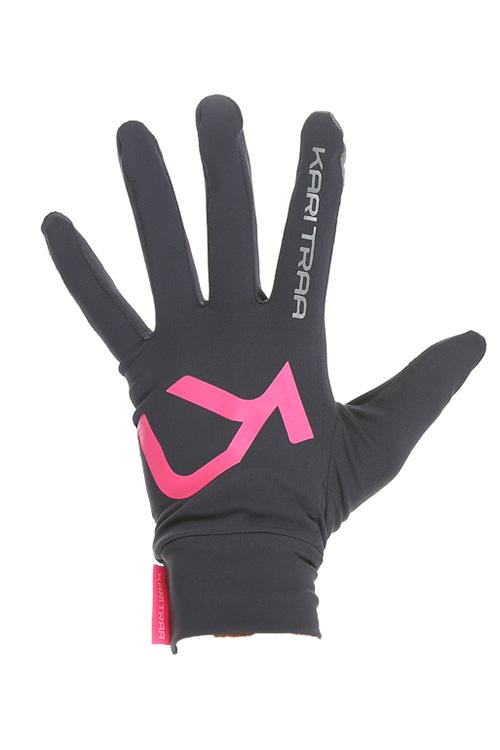 Sportovní funkční rukavice MYRBLA GLOVE - šedá  0a5ce715d8