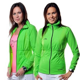 Dámská sportovní bunda na zip EB336 - zelená empty ecae85d5f5